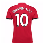 Camiseta 2017/18 Manchester United FC Home (Ibrahimovic 10)