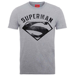 Camiseta DC Comics Superheroes de homem - Design: Superman Logo Spray
