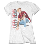 Camiseta Justin Bieber Plaid