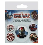 Broche Captain America: Civil War 280773