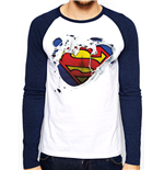Camiseta manga comprida Superman 280783