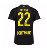 Camiseta 2017/18 Borussia Dortmund Away (Pulisic 22)