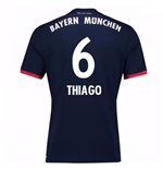 Camiseta 2017/18 Bayern de Munich Away (Thiago 6)
