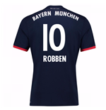 Camiseta 2017/18 Bayern de Munich Away (Robben 10)