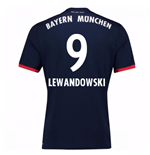 Camiseta 2017/18 Bayern de Munich Away (Lewandowski 9)