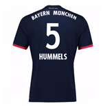 Camiseta 2017/18 Bayern de Munich Away (Hummels 5)