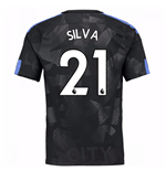 Camiseta 2017/18 Manchester City FC Third (Silva 21)