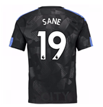 Camiseta 2017/18 Manchester City FC Third (Sane 19)