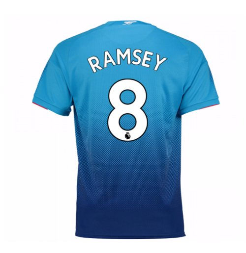 Camiseta 2017/18 Arsenal 2017-2018 Away (Ramsey 8)