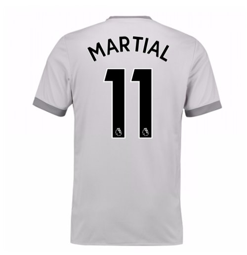 Camiseta 2017/18 Manchester United FC 2017-2018 Third (Martial 11)