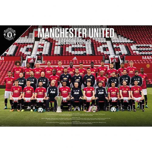 Póster Manchester United FC Squad 52