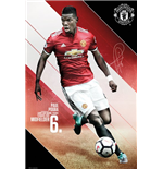 Póster Manchester United FC - Pogba 17/18 - 61x91,5 Cm