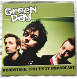 Vinil Green Day - Muddy And Violent In Woodstock 94 - Fm Broadcast