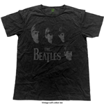 Camiseta Beatles de homem - Design: Vintage Faces