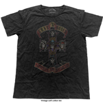 Camiseta Guns N' Roses Appetite Cross (Vintage Finish)