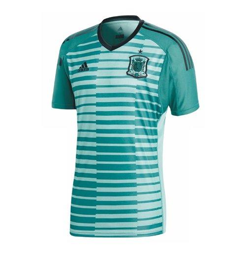 77c34d8158 Compra Camiseta Goleiro Espanha Futebol 2018-2019 Home (Verde)