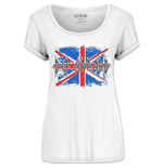 Camiseta Def Leppard Union Jack (Scoop Neck)