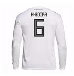 Camiseta Manga Longa Alemanha Futebol 2018-2019 Home (Khedira 6) f8b0632414360
