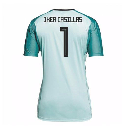Compra Camiseta Goleiro Espanha Futebol 2018-2019 Home (Iker Casillas 1) 5c9e351a320d5