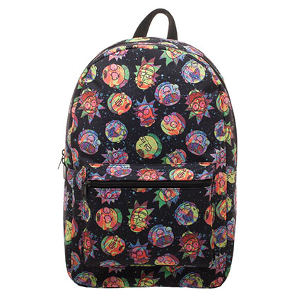Mochila Rick and Morty Cosmic
