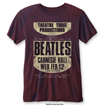 Camiseta Beatles de homem - Design: Carnegie Hall