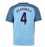 Camiseta Manchester City FC 2016-2017 Home (Guardiola 4)