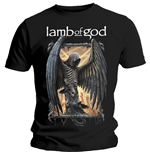 Camiseta Lamb of God de homem - Design: Winged Death