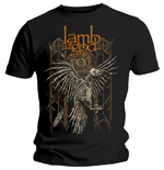 Camiseta Lamb of God de homem - Design: Crow