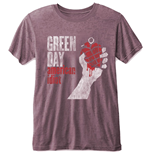 Camiseta Green Day de homem - Design: American Idiot