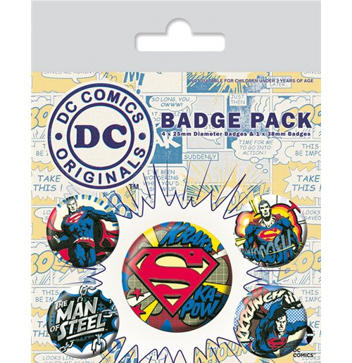 Broche DC Comics Superheroes 286446