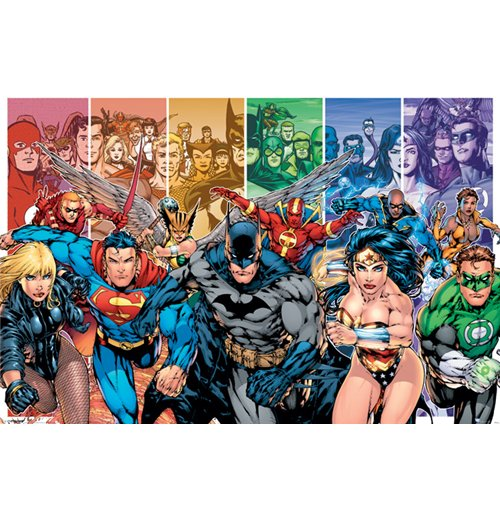 Poster Justice League 286501