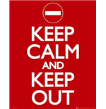 Poster Keep Calm and Carry On 286524