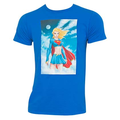 Camiseta Supergirl Comic Panel
