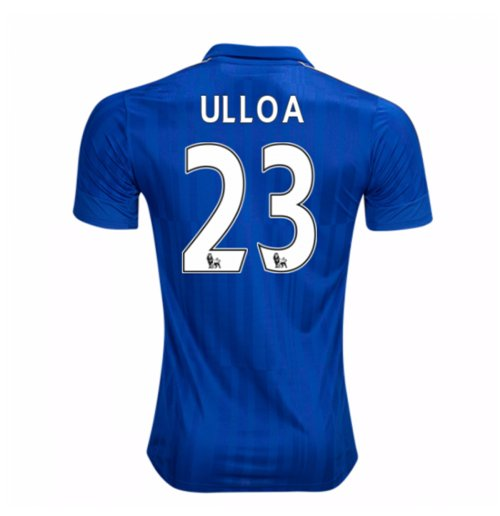 Camiseta Leicester City F.C. 2016-2017 Home (Ulloa 23)