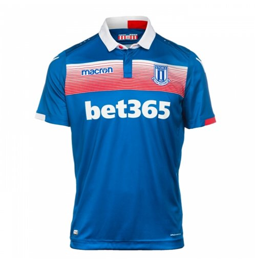 Camiseta 2017/18 Stoke City 2017-2018 Away