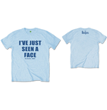 Camiseta Beatles de homem - Design: I've Just Seen A Face