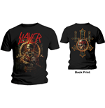 Camiseta Slayer de homem - Design: Hard Cover Comic Book