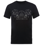 Camiseta Disturbed de homem - Design: Beware The Vultures