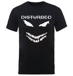Camiseta Disturbed Scary Face Candle