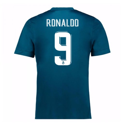 Camiseta 2017/18 Real Madrid 2017-2018 Third (Ronaldo 9)