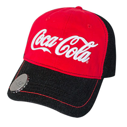 Compra Boné COCA-COLA Ajustável Vermelho e Preto e abridor de garrafa 10ef36b7d65