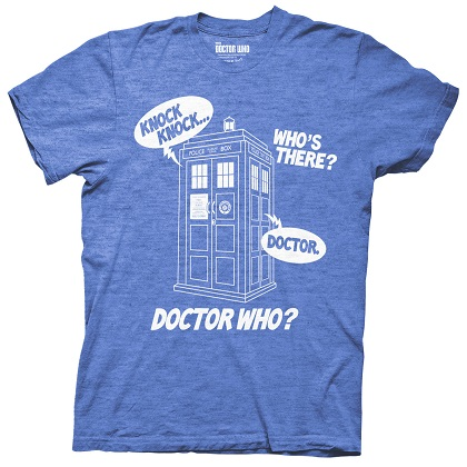 Camiseta Doctor Who Knock Knock