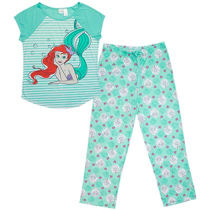 Pijama The Little Mermaid de mulher