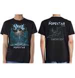 Camiseta Ghost de homem - Design: Lightbringer Popestar Tour Europe 2017
