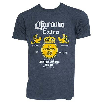 Camiseta Corona Bottle Label