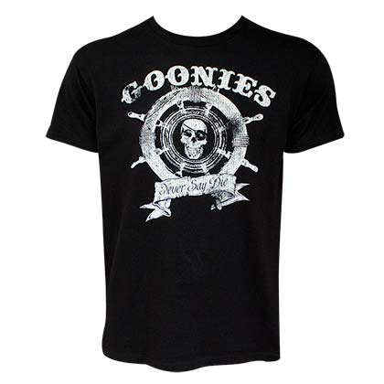Camiseta The Goonies Wheel Logo