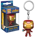 Avengers Infinity War Chaveiro Pocket POP! Vinyl Iron Man 4 cm