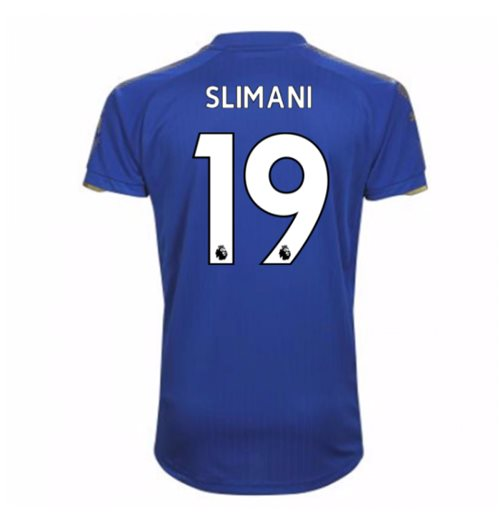 Camiseta Leicester City F.C. 2017-2018 Home