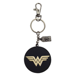 Justice League Llavero metálico Wonder Woman Golden Logo