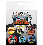 Broche My Hero Academia 294625